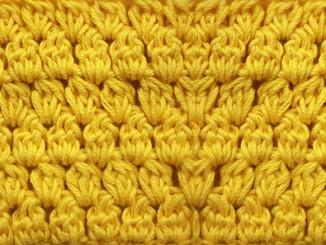 Вязание узора Шишечки