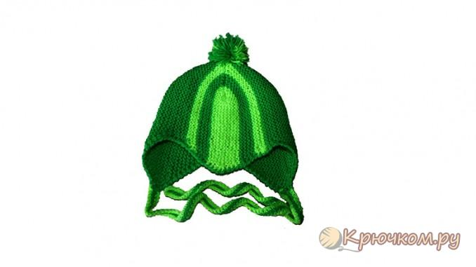 Спортивная шапочка для малыша 3- 6 месяцев
