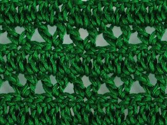 Вязание крючком узора «Бутончики»