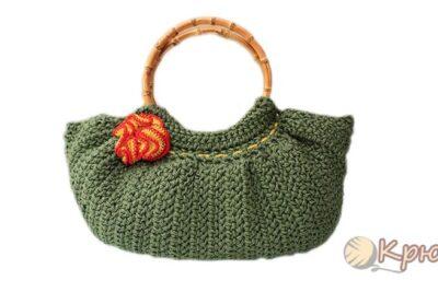 Вязание крючком летней сумки