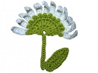 Аппликация «Луговой цветок»