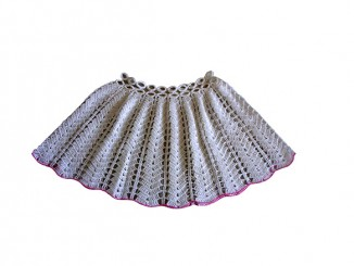 Летняя юбка для девочки крючком