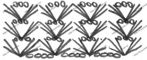 Летние шорты для девочки крючком схема основного узора
