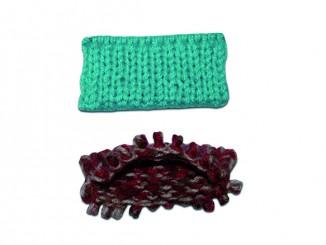 итальянский набор петель и двойная резинка
