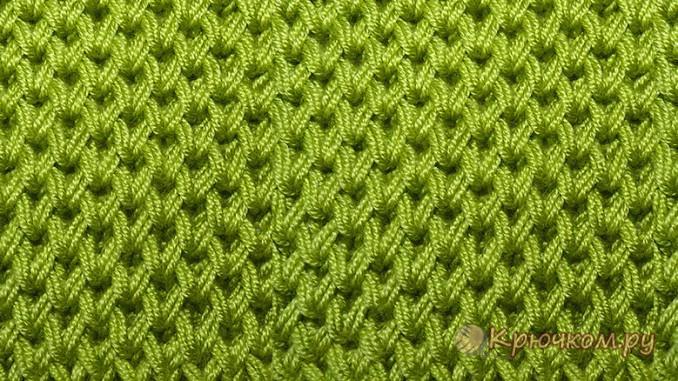 Узоры для вязания спицами пошагово 85