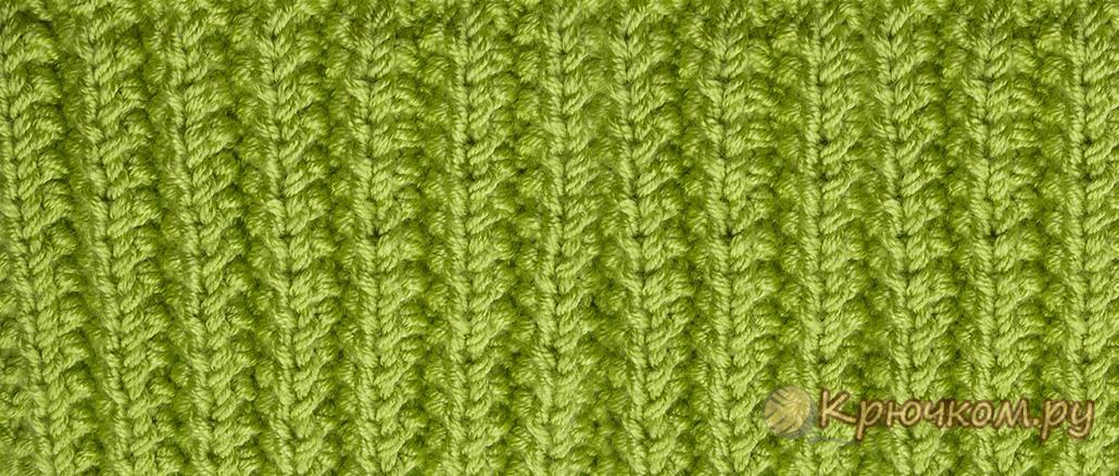 Уроки вязание крючком резинки