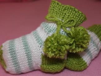 детские носочки спицами