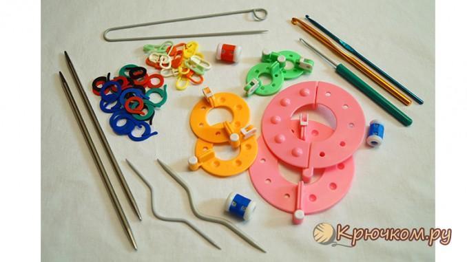 инструменты и приспособления для вязания