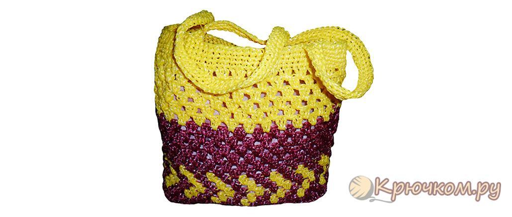-сумка-своми-руками Как связать сумку своими руками для начинающих