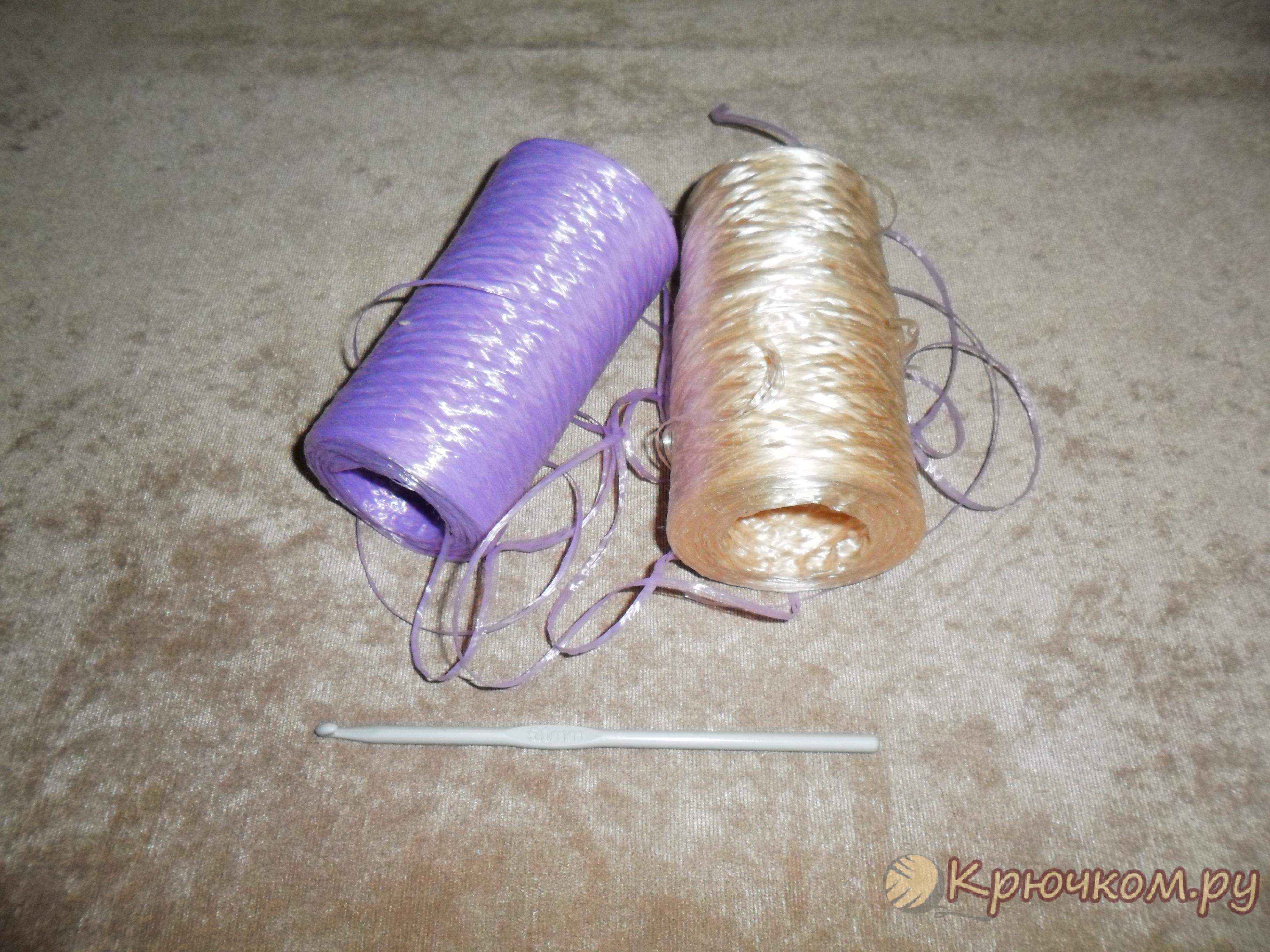 Вязание крючком мочалки (фото мастер-класс)