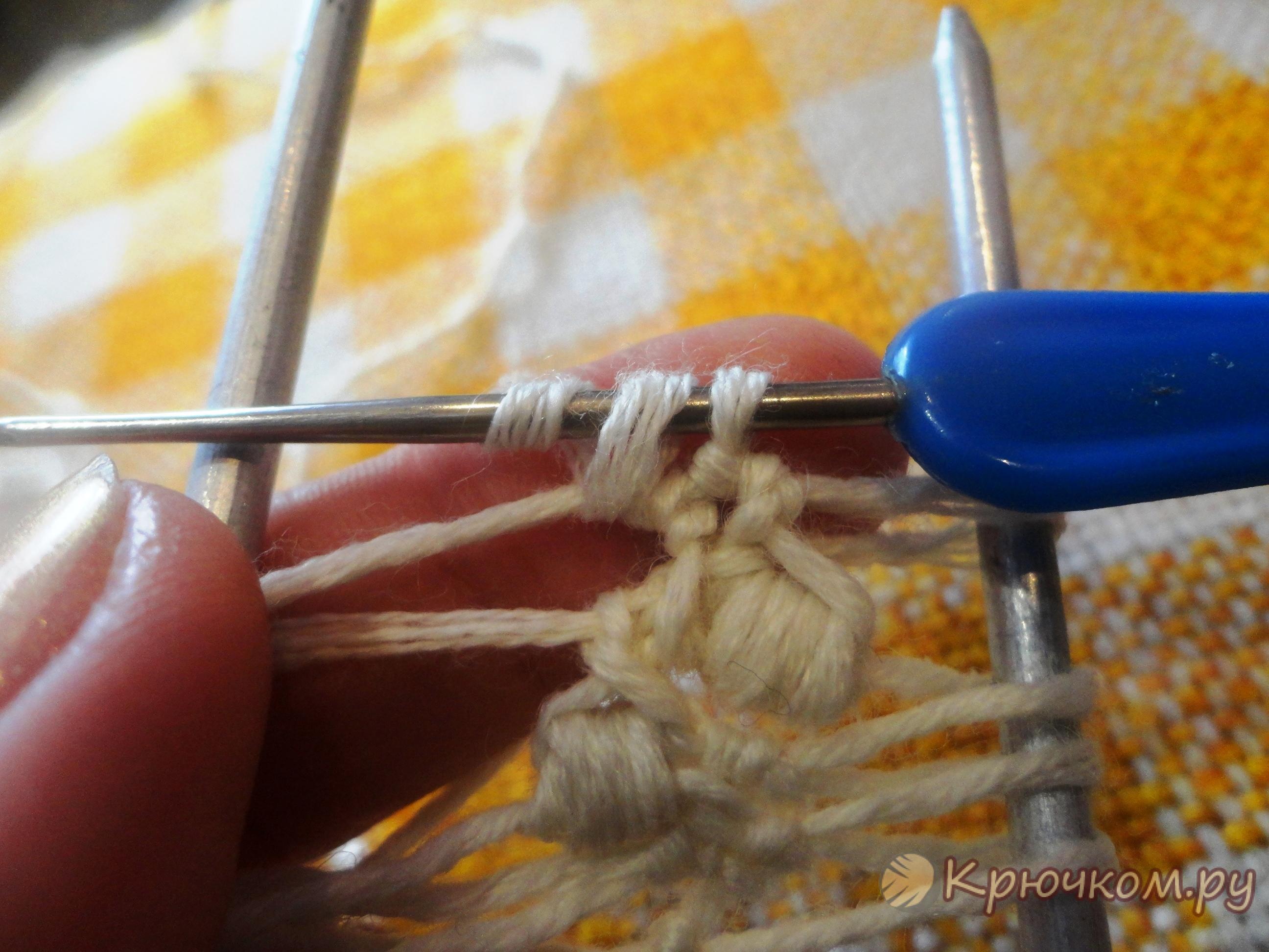 вязание на вилке для начинающих фото мастер класс