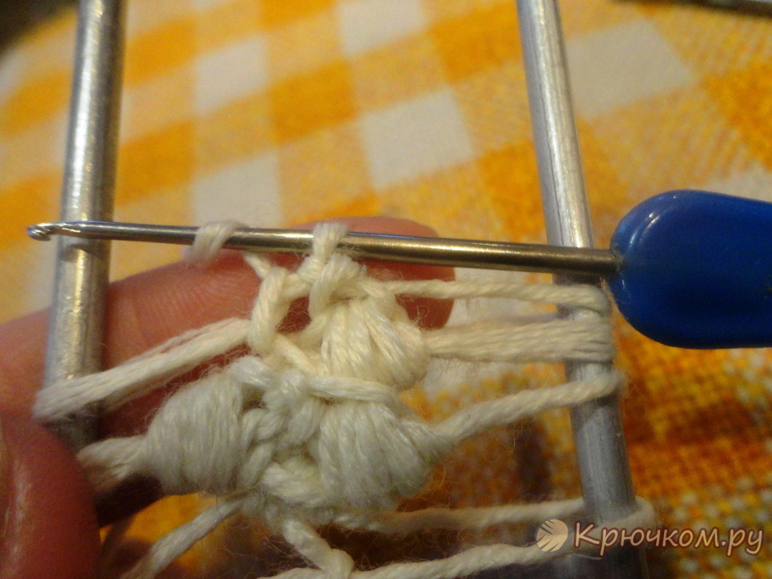 Вилка для вязания крючком своими руками