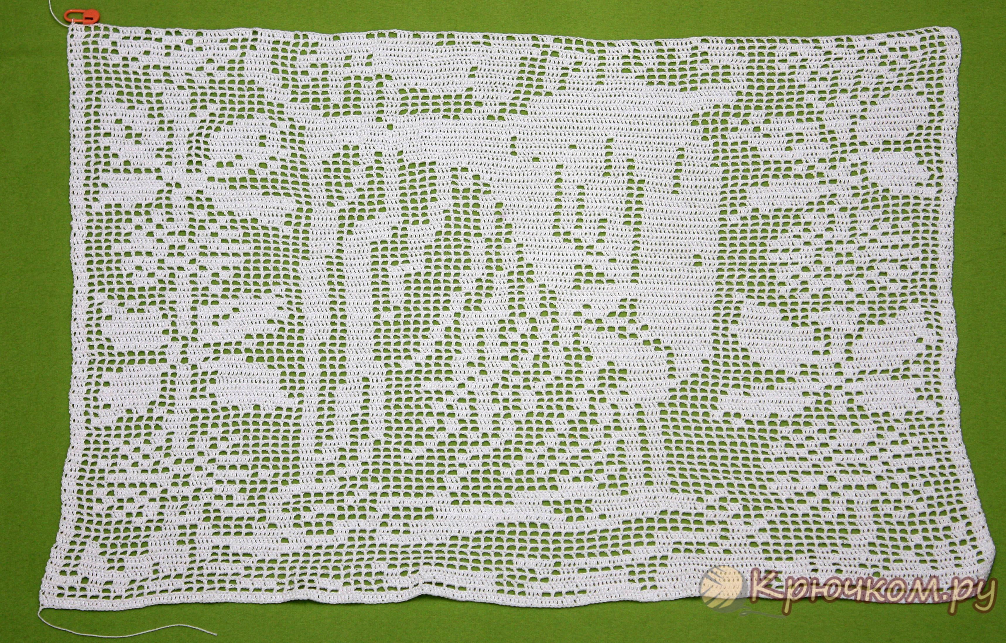 цветочные мотивы в филейном вязании схемы