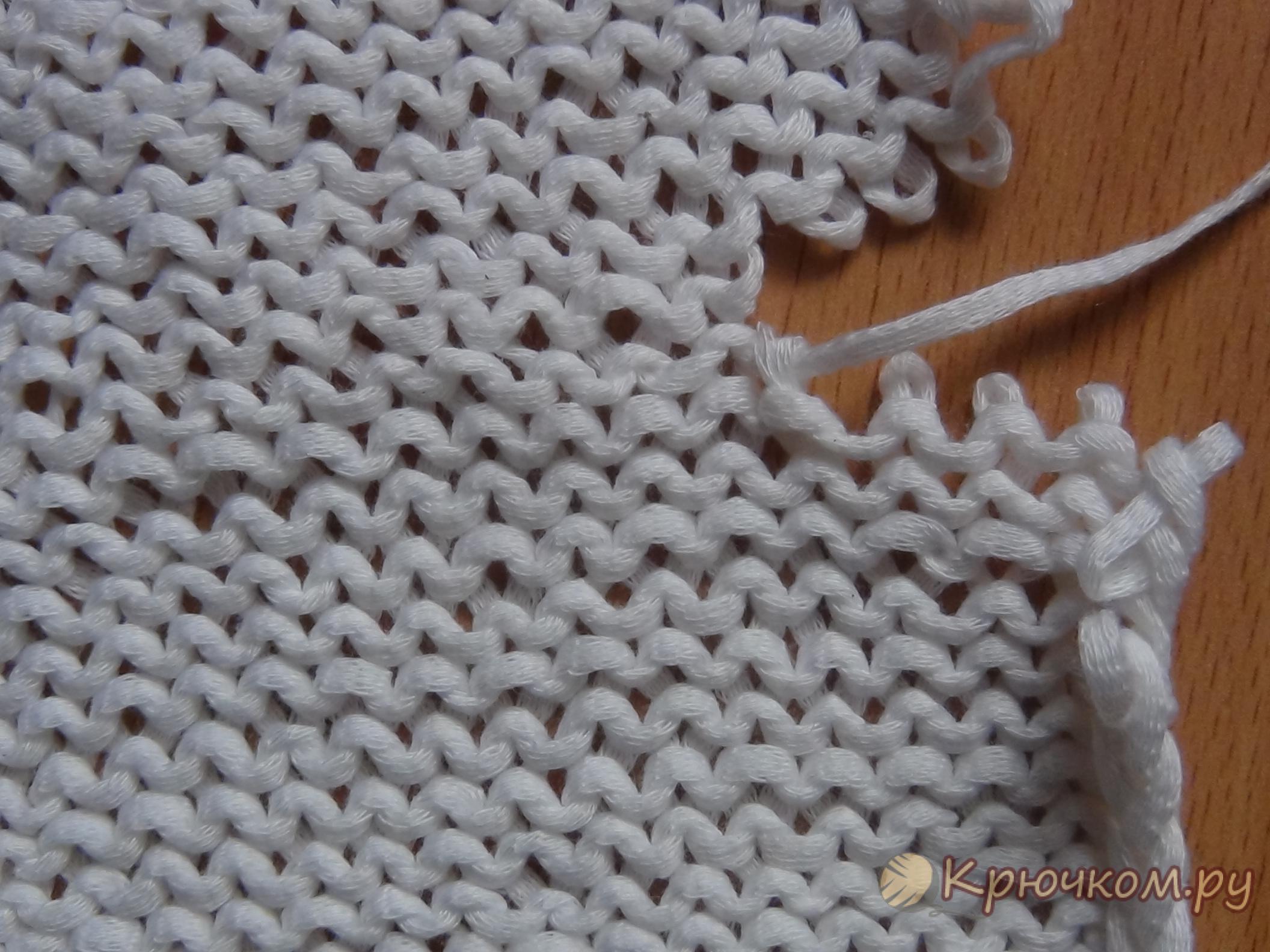 Как сшить детали, связанные спицами (фото мастер-класс)