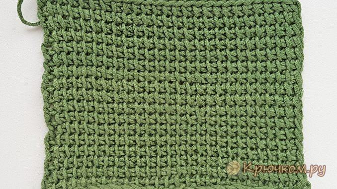 тунисское вязание для начинающих видео и фото мк