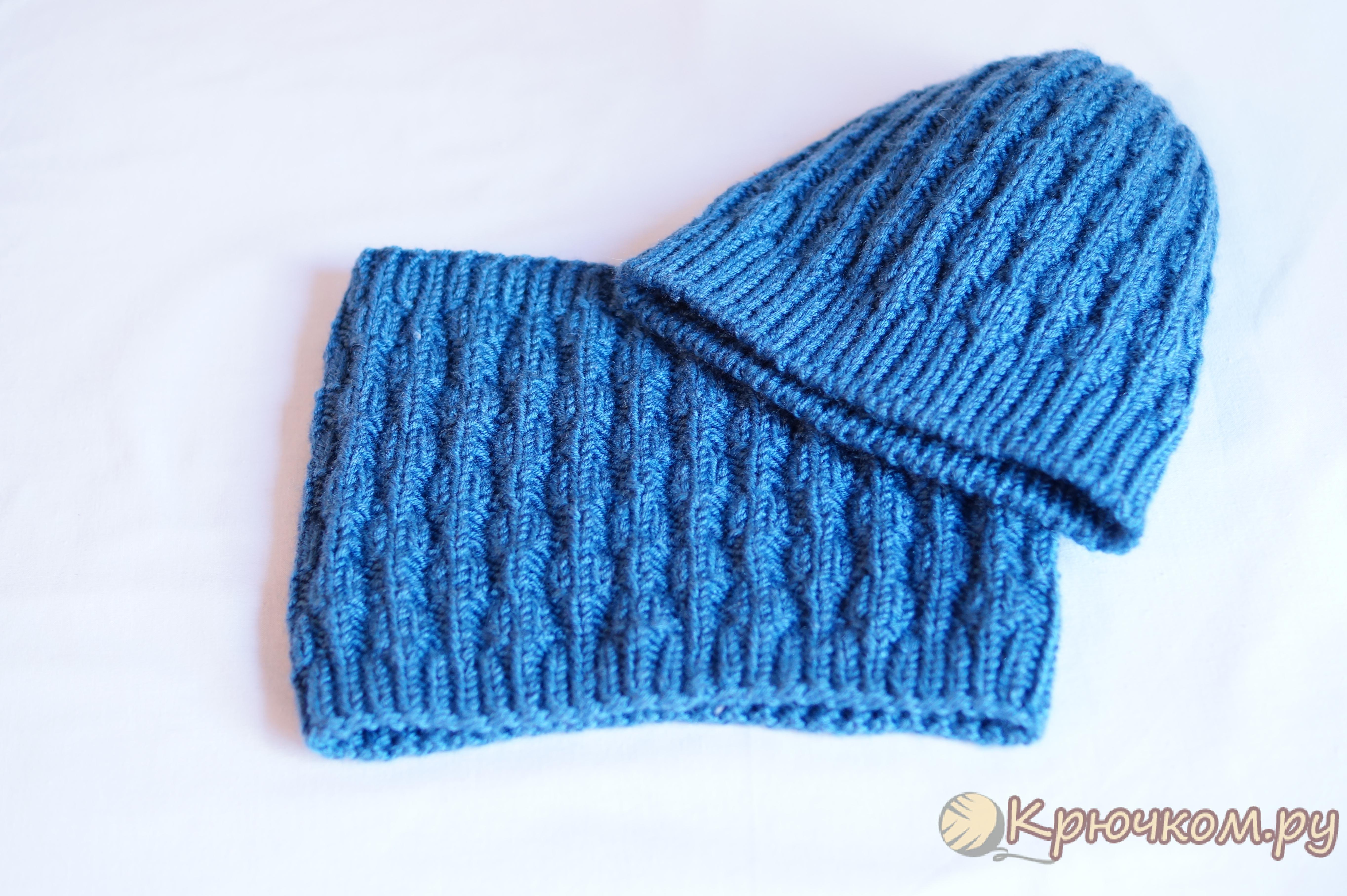 Пуловер с оленями - Описание вязания, схемы вязания 53