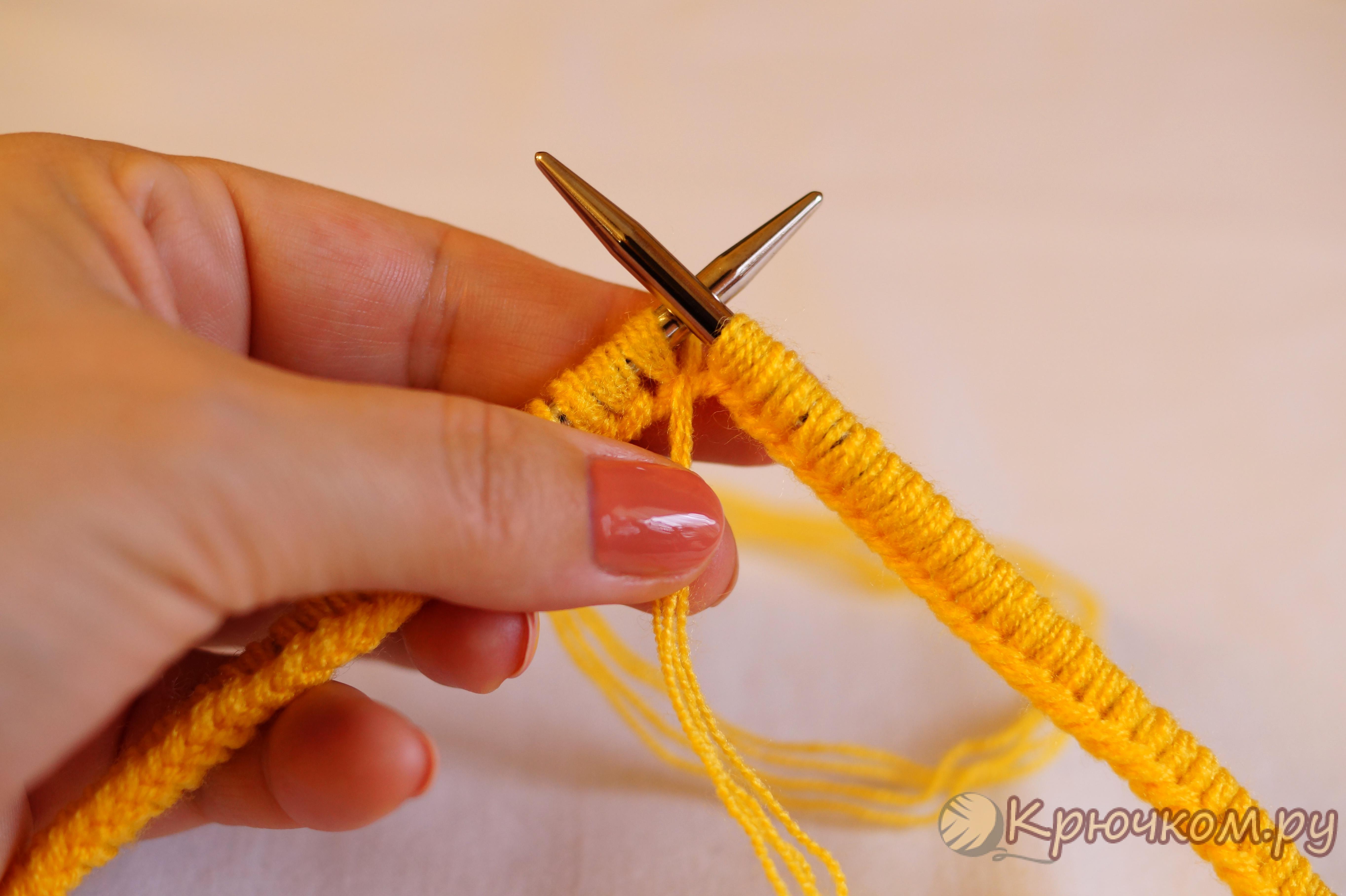 соединить вязание