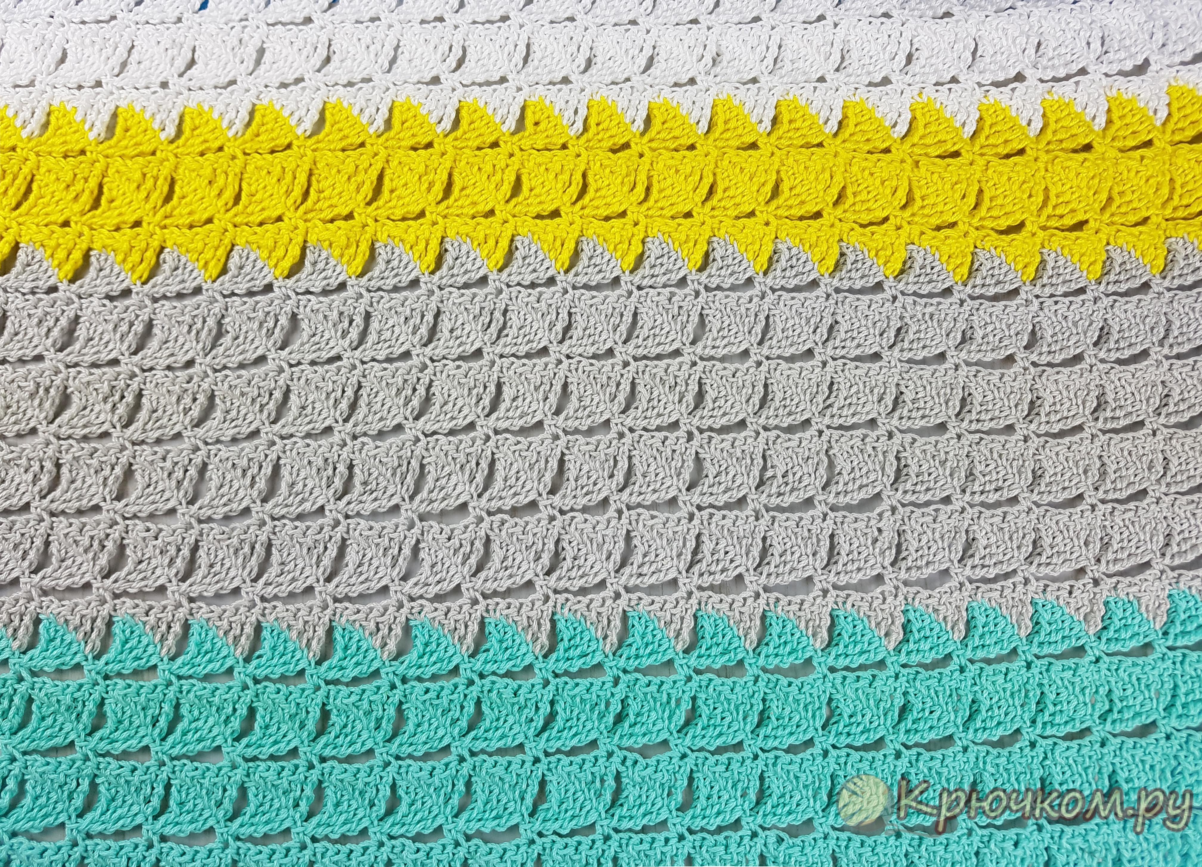 Схема вязания крючком треугольника фото 828