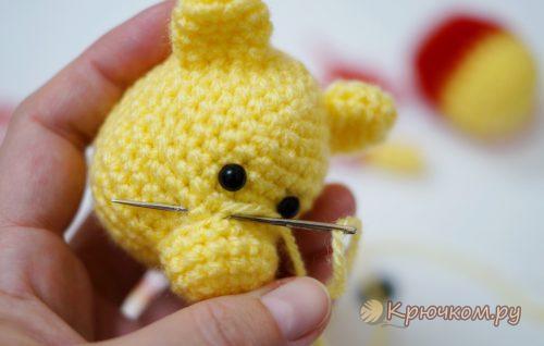 Маленький Мишка крючком