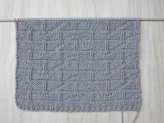 Узор для мужского пуловера спицами