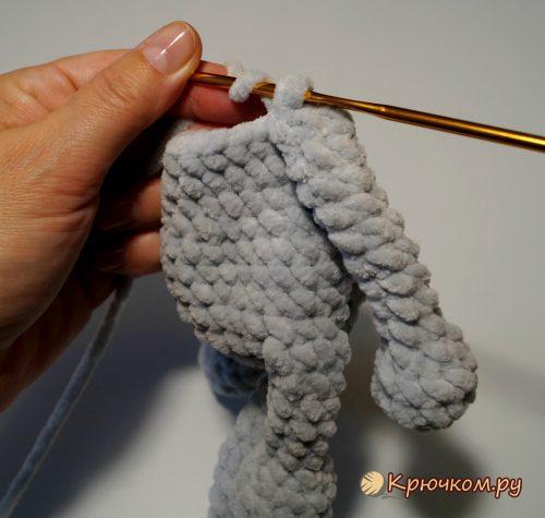 Плюшевый мышонок Альберт крючком