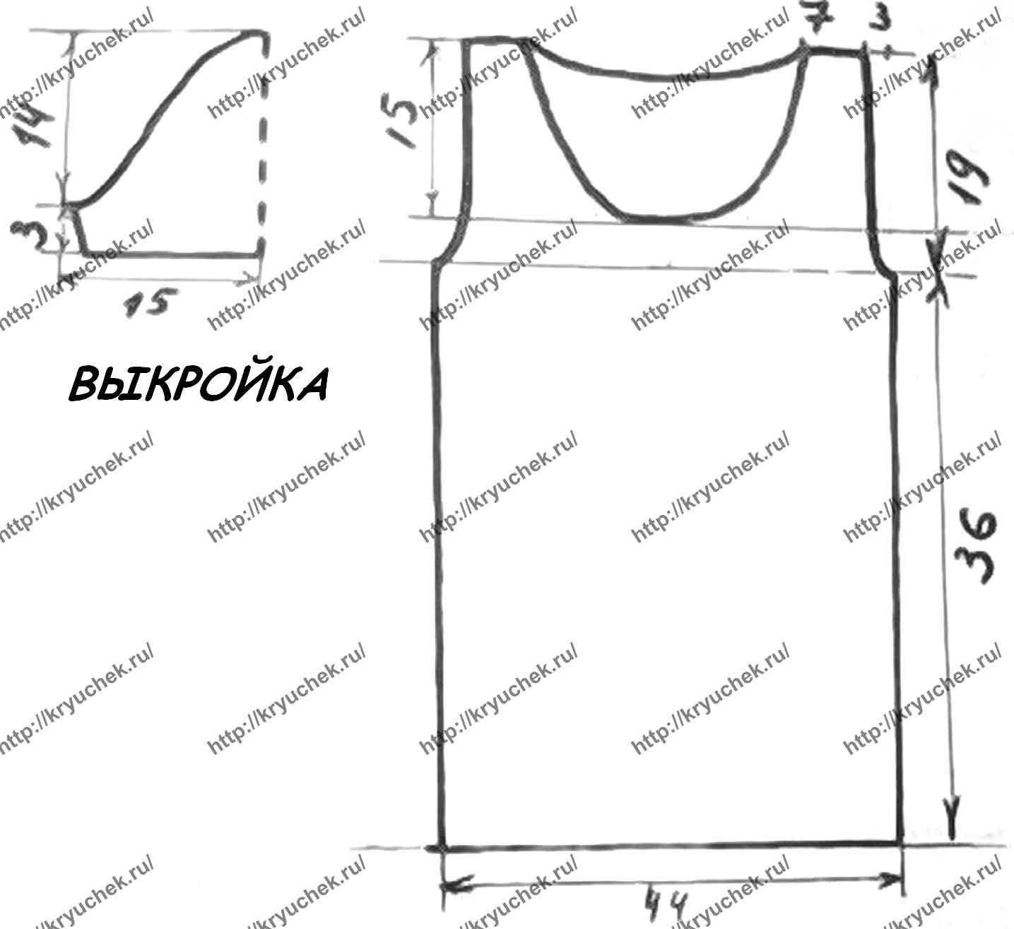 Схема вязания крючком плотных шортиков
