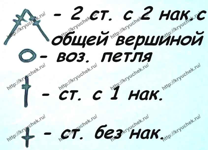 Общие условные обозначения к схемам