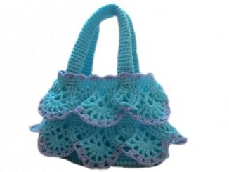детская сумочка для девочки крючком