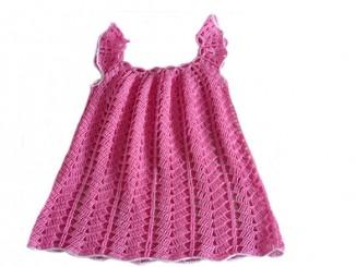 летнее платье сарафанчик на девочку крючком