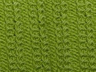 Болгарская резинка спицами