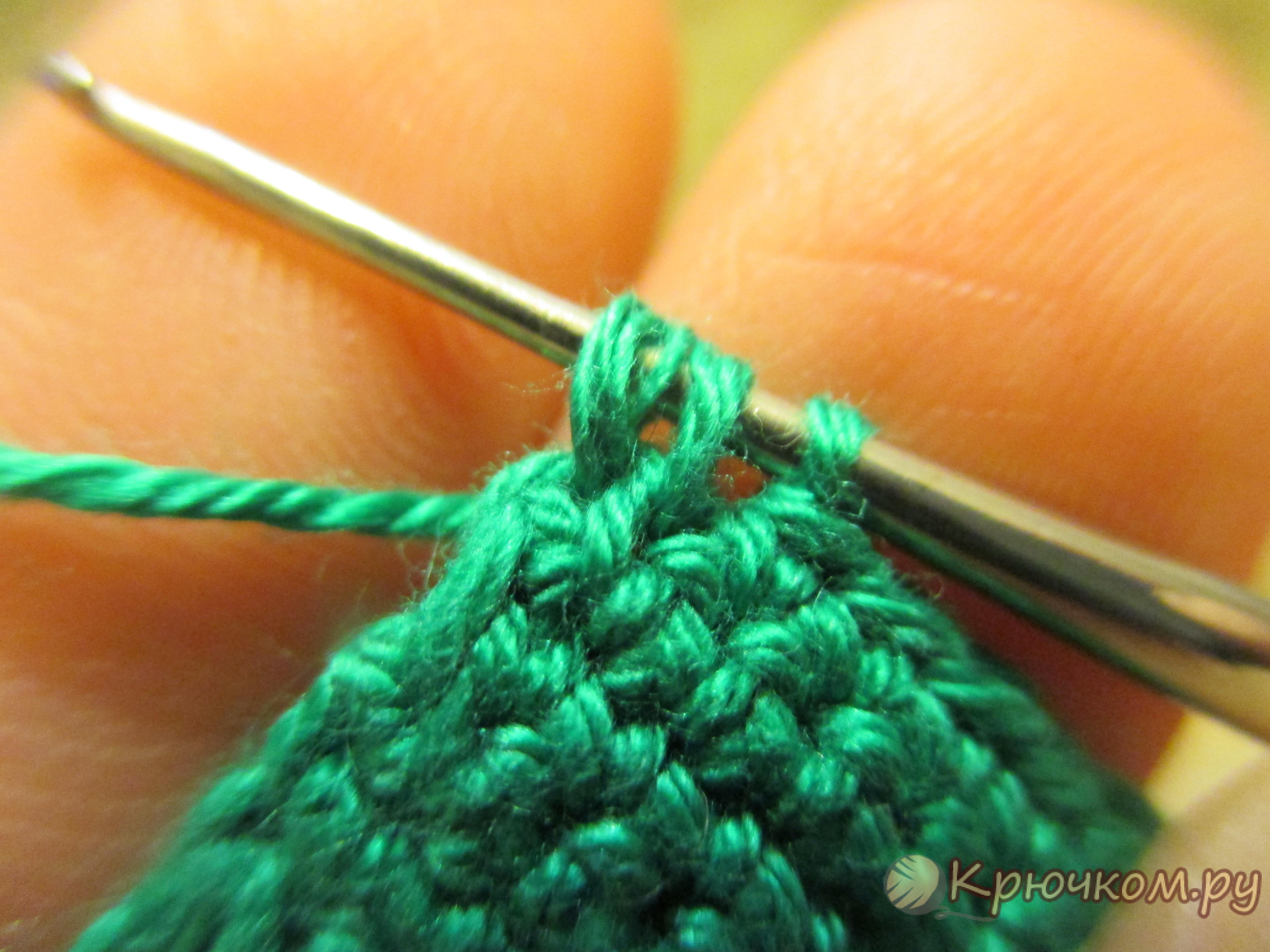 Как убавить при вязании крючком 91