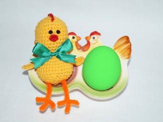 Пасхальный цыпленок своими руками