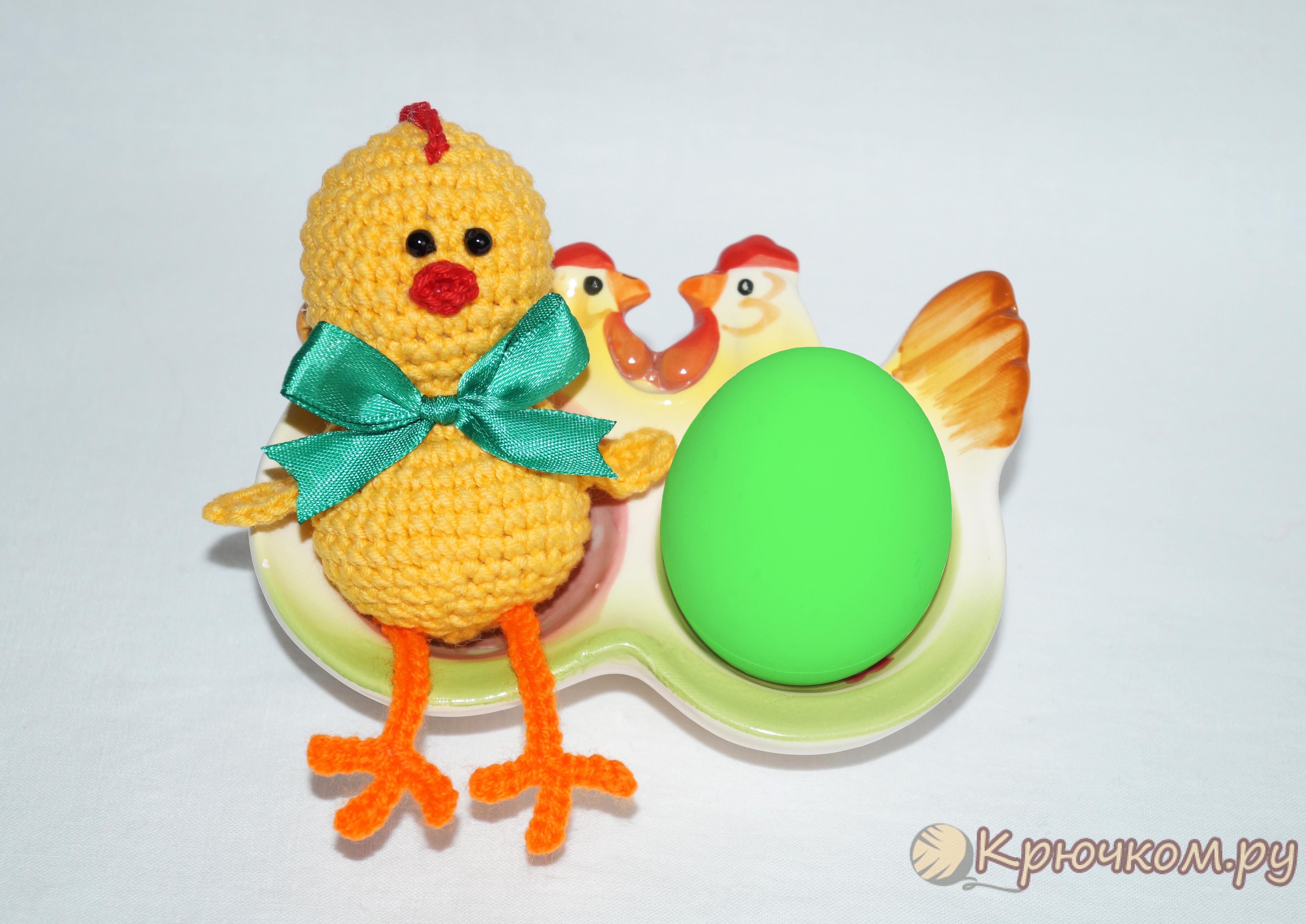 Пасхальный цыпленок своими руками видео