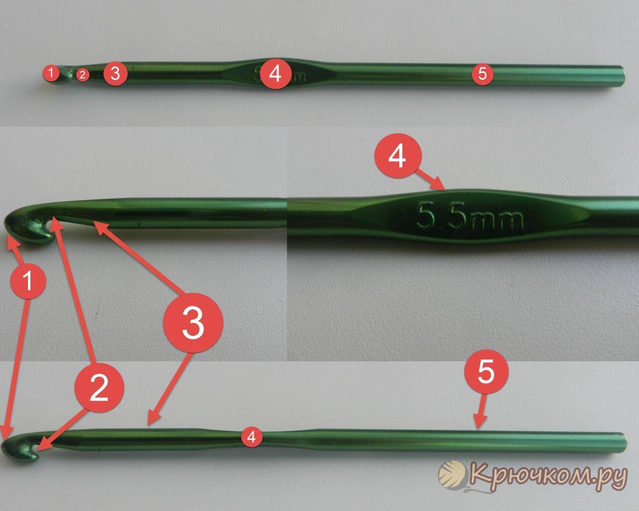 Как выбирать крючки для вязания