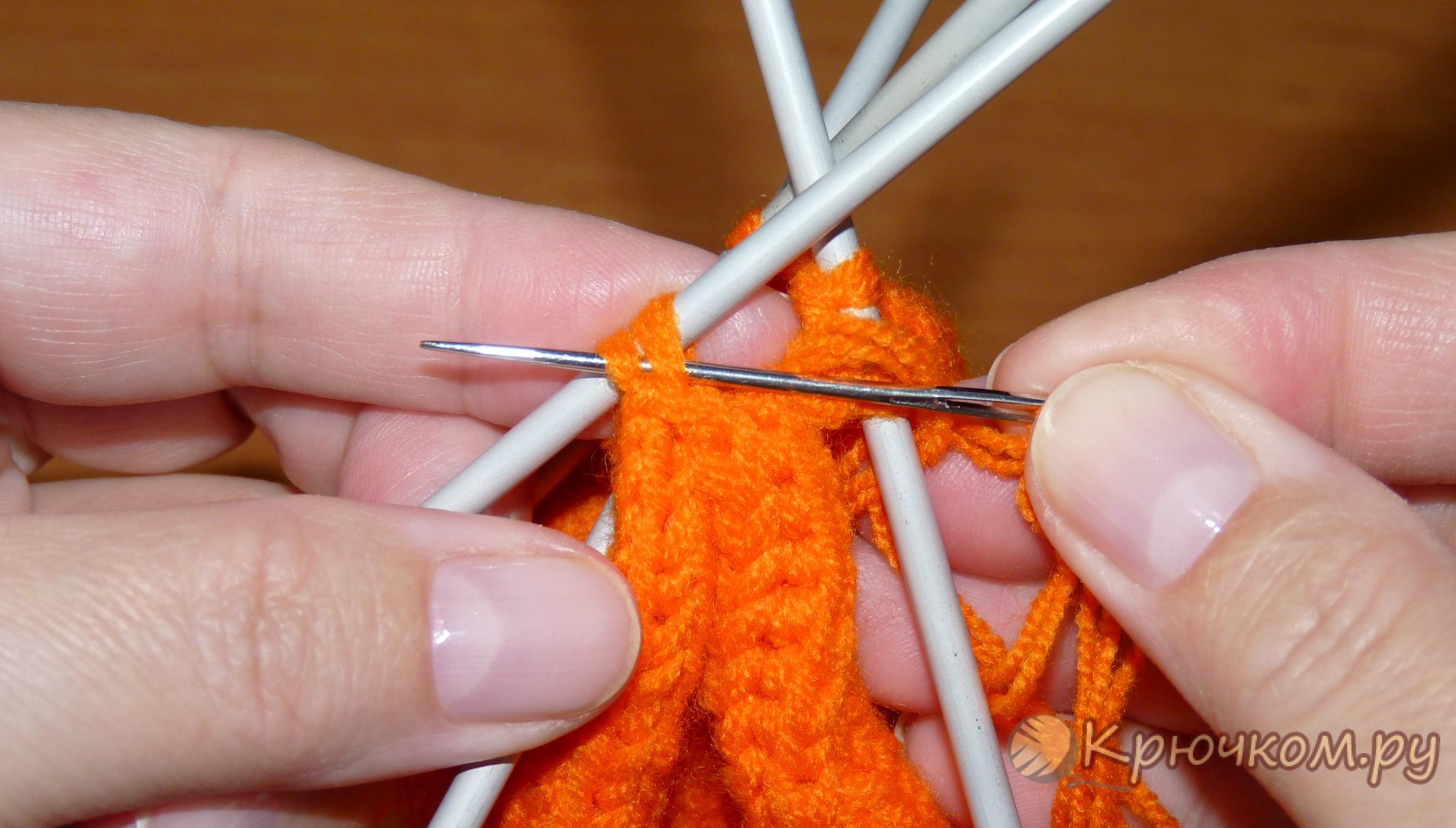 Вязание носков крючком видео-уроки 58