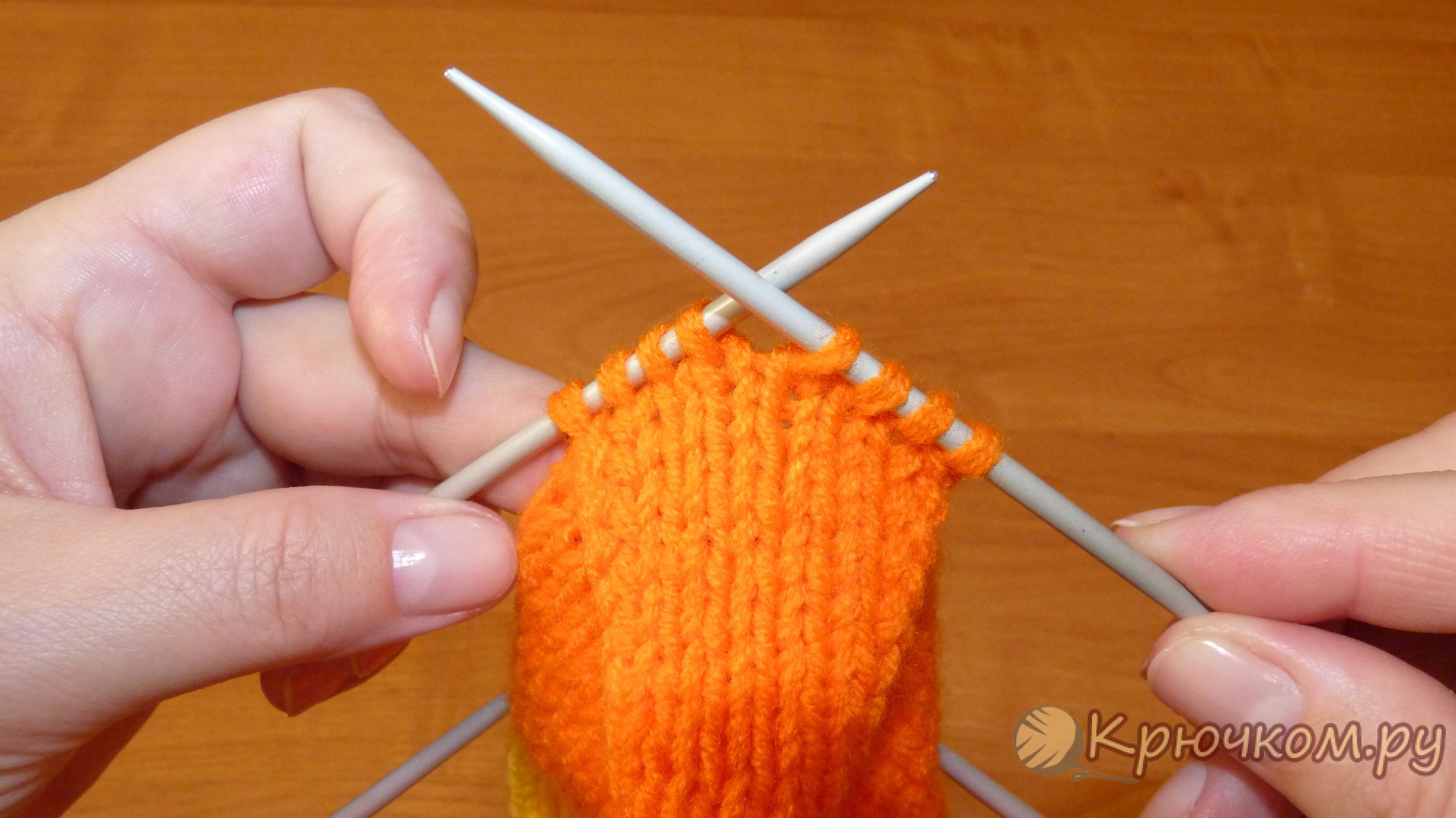 Мастер класс по вязание пятки крючком