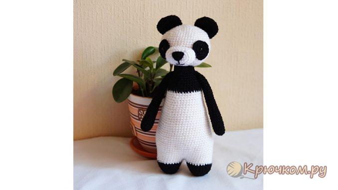 Игрушка Панда крючком