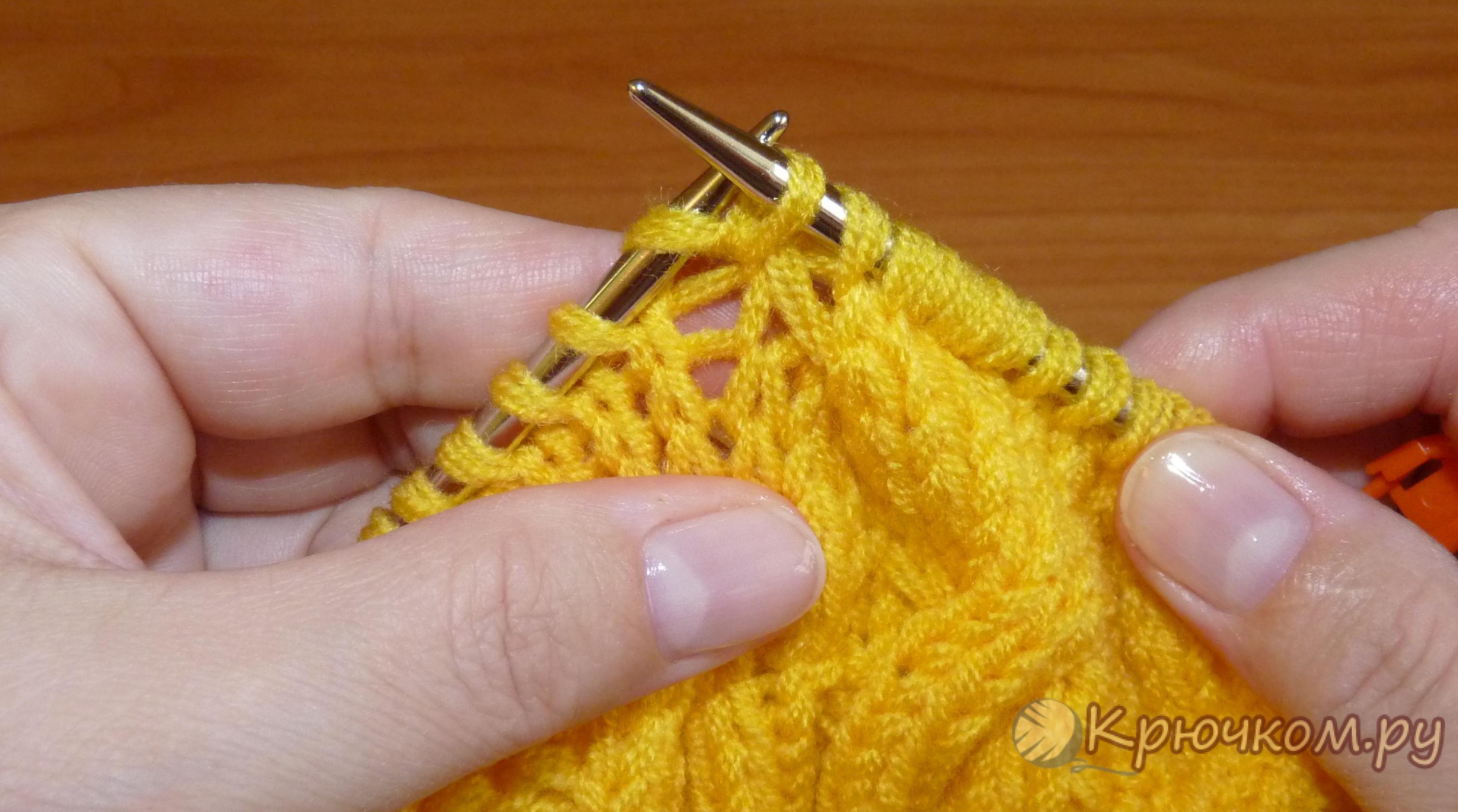 Вязание на спицах: мастер -классы для начинающих и профессионалов на 71